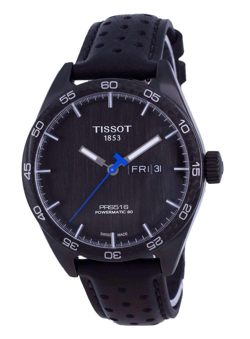 Tissot T-Sport PRS 516 Powermatic 80 T100.430.36.051.02 T1004303605102 100M Reloj para hombre