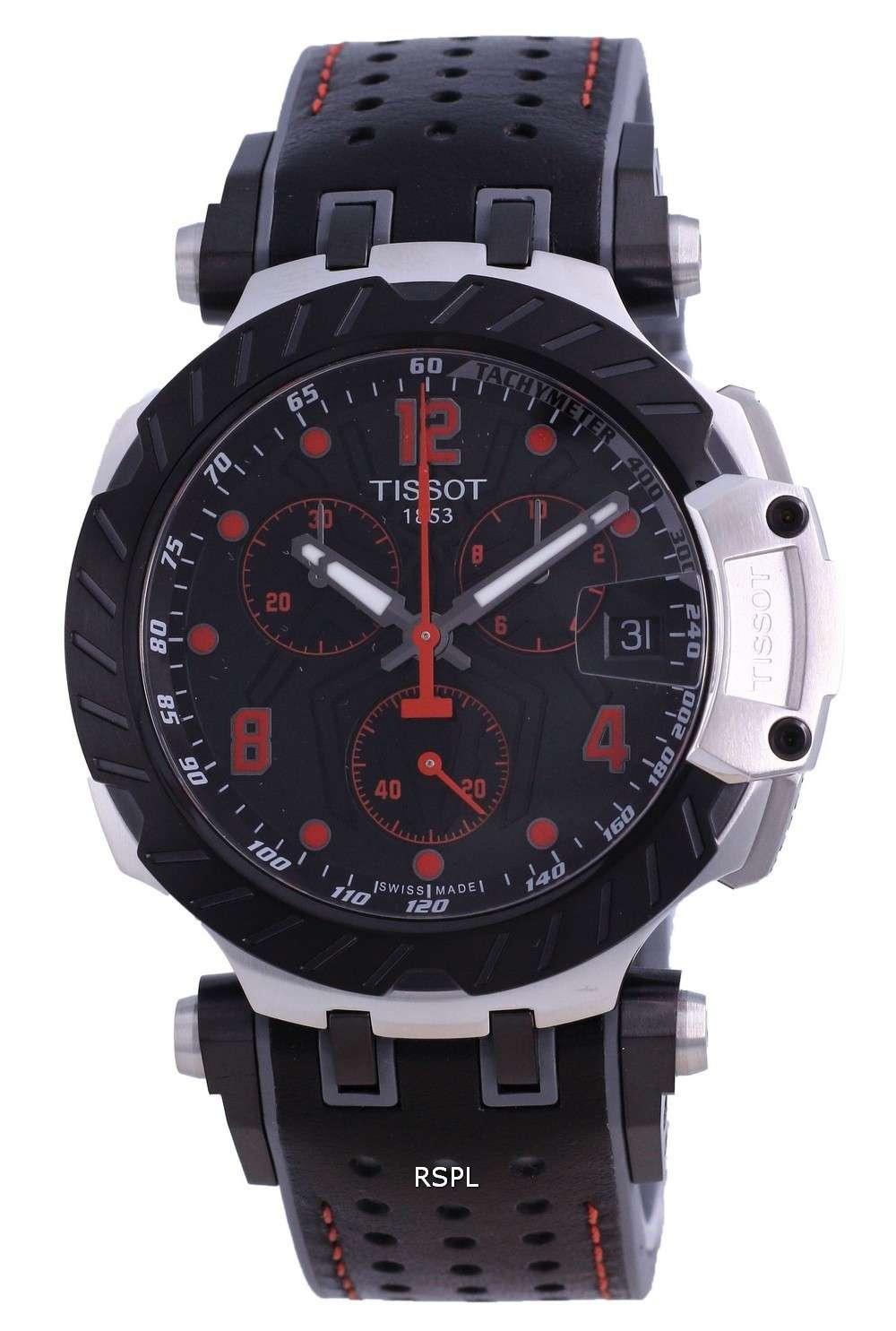 Tissot T-Race MotoGP Chronograph Limited Edition Quartz T115.417.27.051.01 T1154172705101 100M Reloj para hombre