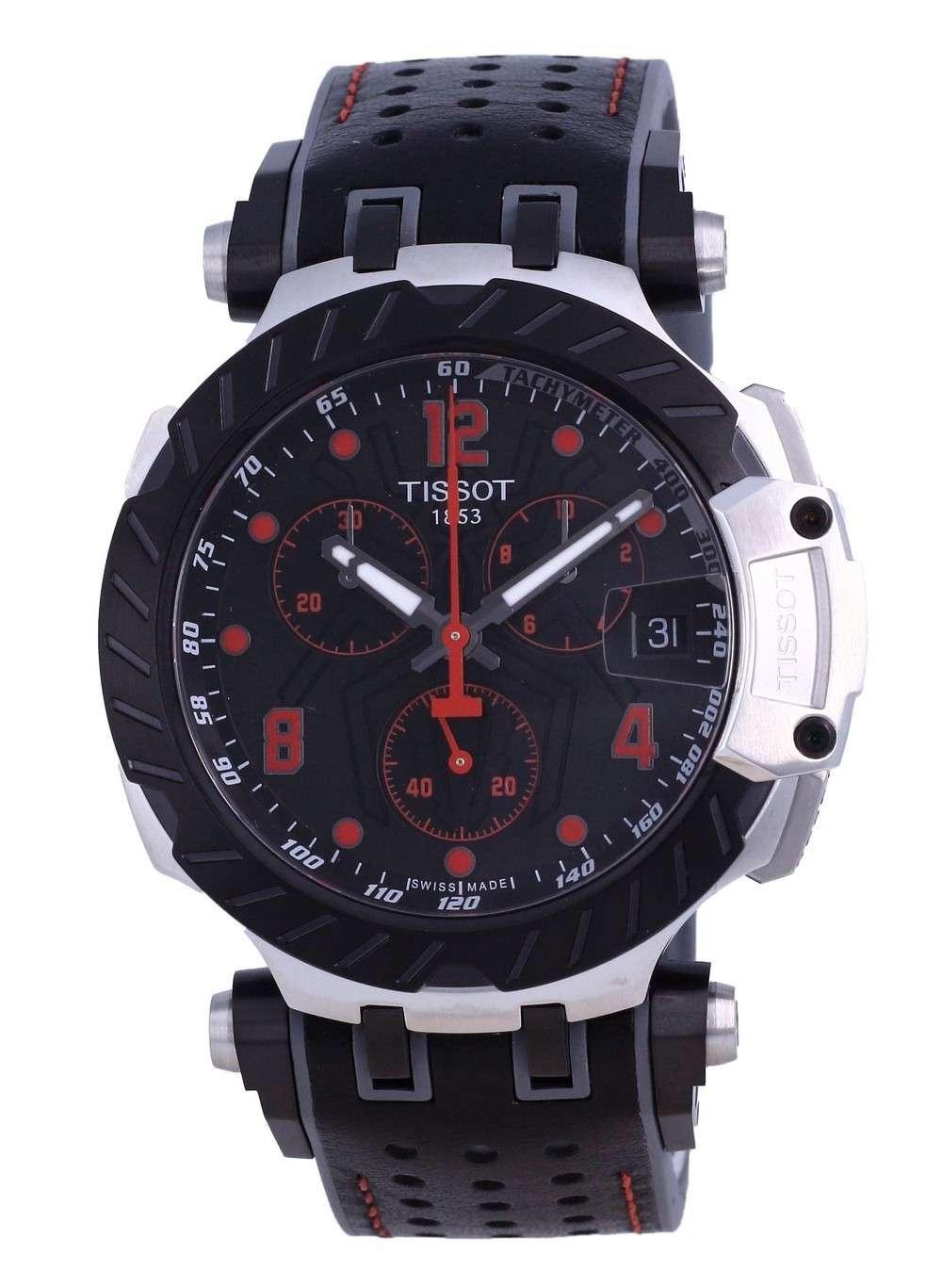 Tissot T-Race Marc Marquez Limited Edition Chronograph Quartz T115.417.27.057.01 T1154172705701 100M Reloj para hombre