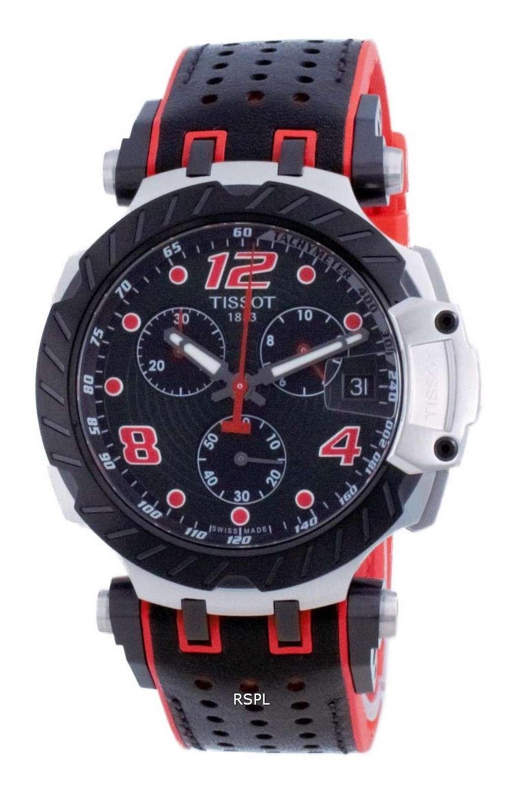 Tissot T-Race Chronograph Quartz T115.417.27.057.04 T1154172705704 100M Reloj para hombre