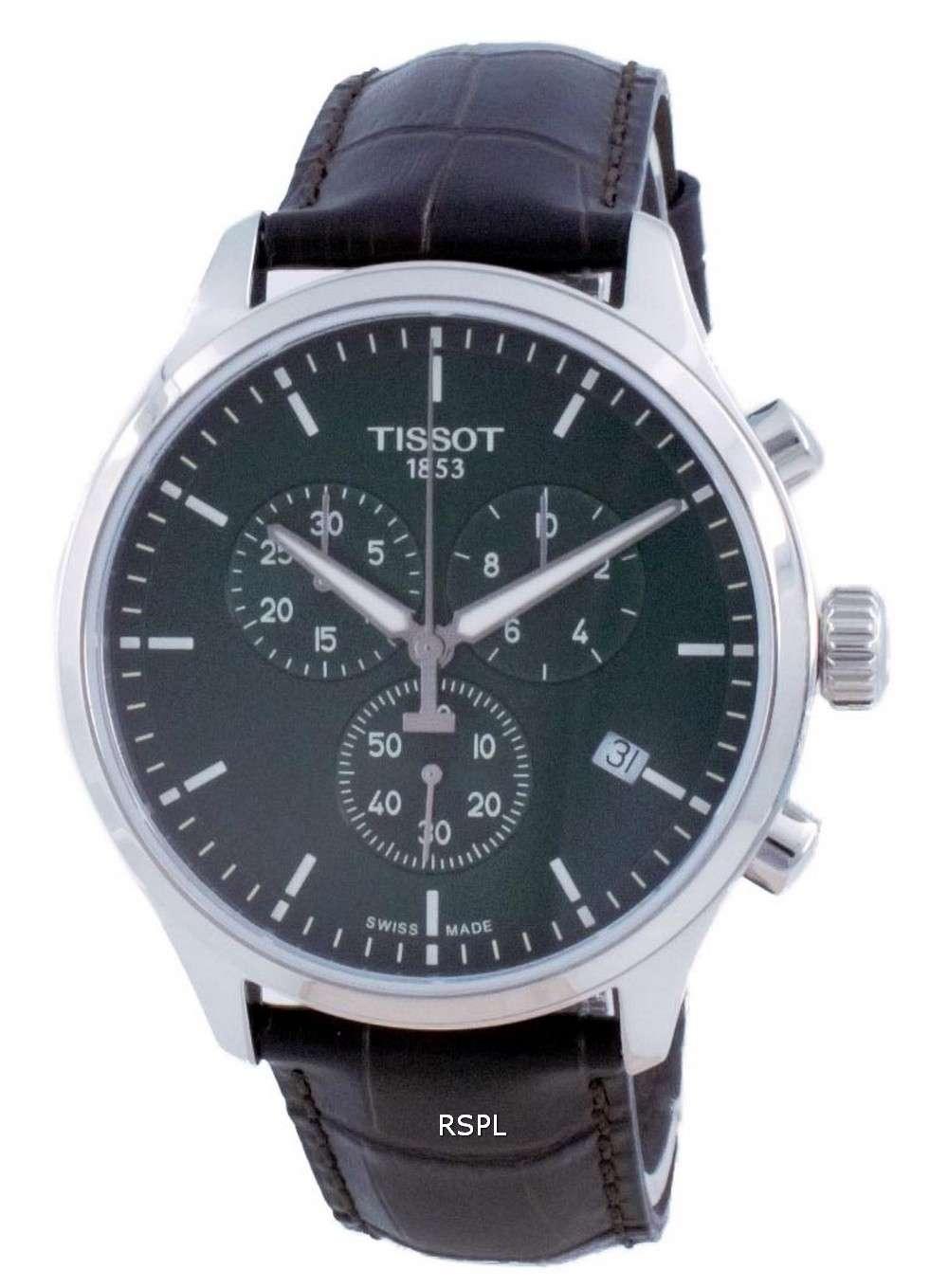 Tissot XL Classic Chronograph Quartz T116.617.16.091.00 T1166171609100 100M Reloj para hombre