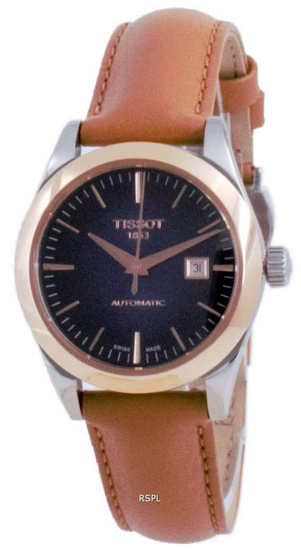 Tissot T-My Lady 18K Gold Automatic T930.007.46.041.00 T9300074604100 Reloj para mujer