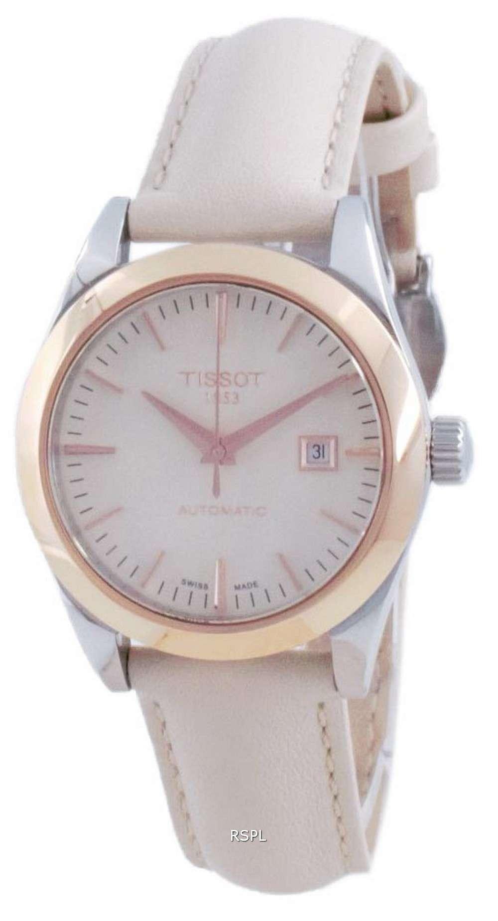 Tissot T-My Lady 18K Gold Automatic T930.007.46.261.00 T9300074626100 Reloj para mujer