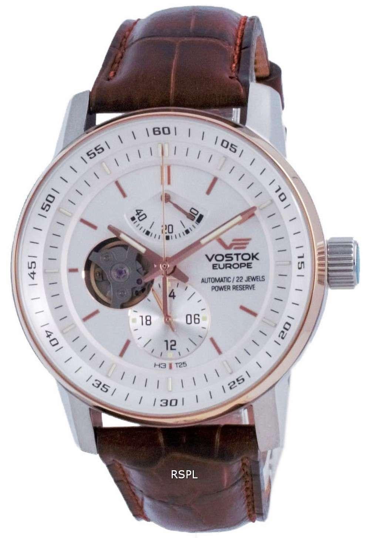 Vostok Europe GAZ 14 Open Heart Automatic YN84-565E550-L Reloj para hombre